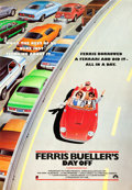 "Movie Posters:Comedy, Ferris Bueller's Day Off (Paramount, 1986). Full-BleedInternational One Sheet (27"" X 41"").. ..."