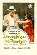 "Movie Posters:Drama, The Planter (Mutual, 1917). One Sheet (27.5"" X 41"") Duo Style.. ..."