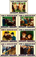 "Movie Posters:Crime, Bullets or Ballots (Warner Brothers, 1936). Lobby Cards (7) (11"" X14"").. ... (Total: 7 Items)"