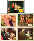 """Movie Posters:Miscellaneous, Early Marilyn Monroe Lot (1947-1950). Lobby Cards (5) (11"""" X 14"""")..... (Total: 5 Items)"""