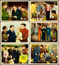 """Movie Posters:Mystery, Charlie Chan at the Circus (20th Century Fox, 1936). Lobby Cards(6) (11"""" X 14"""") .. ... (Total: 6 Items)"""