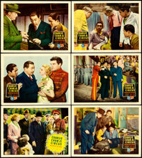 """Charlie Chan at the Circus (20th Century Fox, 1936). Lobby Cards (6) (11"""" X 14"""") . ... (Total: 6 Items)"""