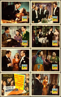 """Movie Posters:Drama, Tales of Manhattan (20th Century Fox, 1942). Lobby Card Set of 8(11"""" X 14"""").. ... (Total: 8 Items)"""
