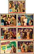 "Movie Posters:Crime, Dead End (United Artists, 1937). Title Lobby Card & Lobby Cards(6) (11"" X 14"").. ... (Total: 7 Items)"