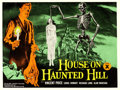 "Movie Posters:Horror, House on Haunted Hill (Associated British-Pathe, 1959). BritishQuad (30"" X 40"").. ..."