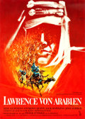 "Movie Posters:Academy Award Winners, Lawrence of Arabia (Columbia, 1962). Full Bleed German A1 (23.5"" X 33"") Georges Kerfyser Artwork.. ..."