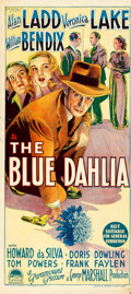"Movie Posters:Film Noir, The Blue Dahlia (Paramount, 1946). Australian Daybill (13"" X 30"")....."