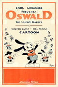 "Movie Posters:Animated, Oswald the Lucky Rabbit (Universal, 1934). One Sheet (27.5"" X41"").. ..."