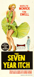 "Movie Posters:Comedy, The Seven Year Itch (20th Century Fox, 1955). Australian One Sheet(27"" X 40"").. ..."