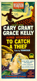"Movie Posters:Hitchcock, To Catch a Thief (Paramount, 1955). Australian Daybill (13.5"" X30"").. ..."