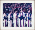 Baseball Collectibles:Others, 1986 New York Mets Signed Photograph from The Gary CarterCollection....