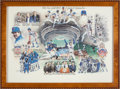 """Baseball Collectibles:Others, """"1986 New York Mets A Year to Remember"""" Lithograph from TheGary Carter Collection...."""