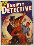 Pulps:Detective, Variety Detective Magazine V2#2 (Ace Magazines, Inc., 1939)Condition: GD. Bookery's Guide to Pulps GD value = $20....