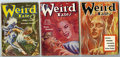 Pulps:Horror, Weird Tales Pulp Group (Popular Fiction, 1954) Condition: AverageVG. Includes three digest format issues from January, May,...(Total: 3)