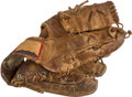 Baseball Collectibles:Others, Circa 1970 Gary Carter Game Used High School/Childhood Glove fromThe Gary Carter Collection. ...