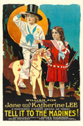 """Movie Posters:Comedy, Tell it to the Marines (Fox, 1918). One Sheet (27"""" X 41"""").. ..."""