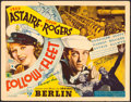 "Movie Posters:Musical, Follow the Fleet (RKO, 1936). Autographed Title Lobby Card (11"" X14"").. ..."