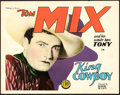 "Movie Posters:Western, King Cowboy (FBO, 1928). Title Lobby Card (11"" X 14"").. ..."