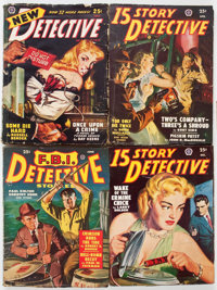 Assorted Detective Pulps Group of 10 (Various, 1911-49) Condition: Average GD.... (Total: 10 Items)