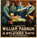 "Movie Posters:Drama, A Soldier's Oath (Fox, R-1918). Six Sheet (80"" X 82"").. ..."