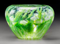 Art Glass:Tiffany , Tiffany Studios Paperweight Glass Lilies of the ValleyCabinet Vase. Circa 1910. Engraved L.C.T.. Ht. 3-1/4 ...