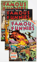 Golden Age (1938-1955):Miscellaneous, Famous Funnies Group of 17 (Eastern Color, 1946-53) Condition: Average FN.... (Total: 17 Comic Books)