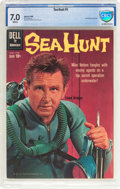 Silver Age (1956-1969):Adventure, Sea Hunt #5 (Dell, 1960) CBCS FN/VF 7.0 White pages....