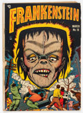 Golden Age (1938-1955):Horror, Frankenstein Comics #18 (Prize, 1949) Condition: GD/VG....