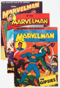 Silver Age (1956-1969):Alternative/Underground, Marvelman/Young Marvelman Group of 8 (L. Miller & Son, 1954-61)Condition: Average VG+.... (Total: 8 Comic Books)