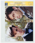 Memorabilia:Miscellaneous, David Tennant and Matt Smith Doctor Who Autographed Photo - CGC Signature Series (2016)....