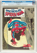 Magazines:Superhero, Spectacular Spider-Man #1 (Marvel, 1968) CGC NM 9.4 Off-whitepages....