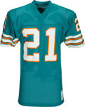 Football Collectibles:Uniforms, 1970's Jim Kiick Team Issued Miami Dolphins Jersey - Kindler Collection....