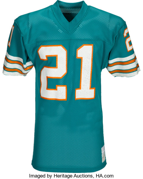 cd49d10c73d 1970 s Jim Kiick Team Issued Miami Dolphins Jersey -