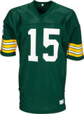 Football Collectibles:Uniforms, 1970's Bart Starr Team Issued Green Bay Packers Jersey - Kindler Collection....