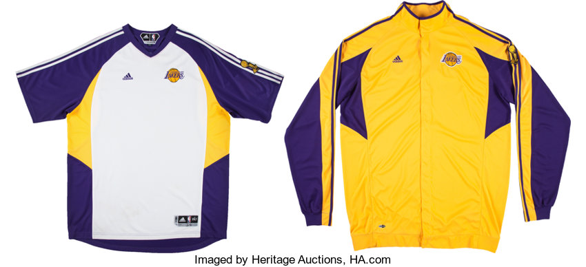 super popular 282e6 2073d 2008-09 Kobe Bryant NBA Finals Game Worn Los Angeles Lakers ...