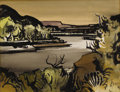 Texas:Early Texas Art - Regionalists, MILFORD ZORNES (b. 1908). The Rio Grande, 1965. Watercoloron paper. 11 x 14 inches (27.9 x 35.6 cm). Signed and dated l...