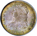 Bust Half Dollars, 1820/19 50C Curl Base 2 MS62 PCGS....