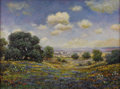 Texas:Early Texas Art - Impressionists, JERRY MALZAHN ( b. 1946). Hillside, Llano, 2007. Oil onmasonite. 18 x 24 inches (45.7 x 61.0 cm). Signed lower left. ...