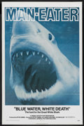 "Movie Posters:Documentary, Blue Water, White Death (National General, 1971). One Sheet (27"" X 41""). Documentary. ..."