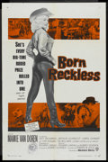 "Movie Posters:Bad Girl, Born Reckless (Warner Brothers, 1959). One Sheet (27"" X 41""). BadGirl. ..."