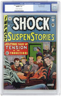 Golden Age (1938-1955):Horror, Shock SuspenStories #1 Gaines File pedigree 8/11 (EC, 1952) CGCNM/MT 9.8 Off-white to white pages....
