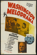 "Movie Posters:Mystery, Washington Melodrama (MGM, 1941). One Sheet (27"" X 41""). Mystery....."