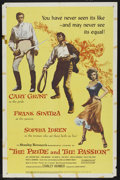 "Movie Posters:Adventure, The Pride and the Passion (United Artists, 1957). One Sheet (27"" X41""). Adventure. ..."