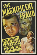 "Movie Posters:Drama, The Magnificent Fraud (Paramount, 1939). One Sheet (27"" X 41"") Style A. Drama. ..."