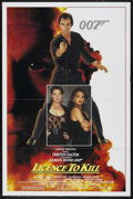 """Movie Posters:James Bond, Licence to Kill (United Artists, 1989). One Sheet (27"""" X 41"""").James Bond. ..."""