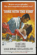 "Movie Posters:Academy Award Winner, Gone with the Wind (MGM, R-1968). One Sheet (27"" X 41""). AcademyAward Winner. ..."