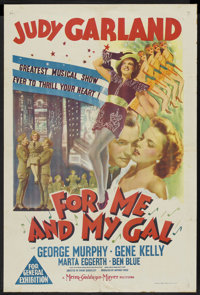 "For Me and My Gal (MGM, 1942). Australian One Sheet (27"" X 40""). Musical"