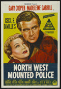 "Movie Posters:Adventure, North West Mounted Police (Paramount, 1940). Australian One Sheet(27"" X 40""). Adventure. ..."