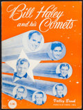"""Movie Posters:Rock and Roll, Bill Haley & His Comets Music Book (Valley Brook, 1956). SheetMusic Book (32 Pages, 9"""" X 12""""). Rock and Roll.. ..."""