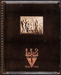 "RKO Exhibitor Book 1940-1941 (RKO, 1940). Spiral Bound Hardcover Exhibitor Book (48 Pages, 11.75"" X 14.5""). Mi..."